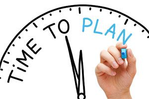 How much time do we need to plan in from start to finish?